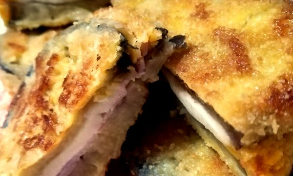 Cotolette di MELANZANE RIPIENE (fritte o al forno)