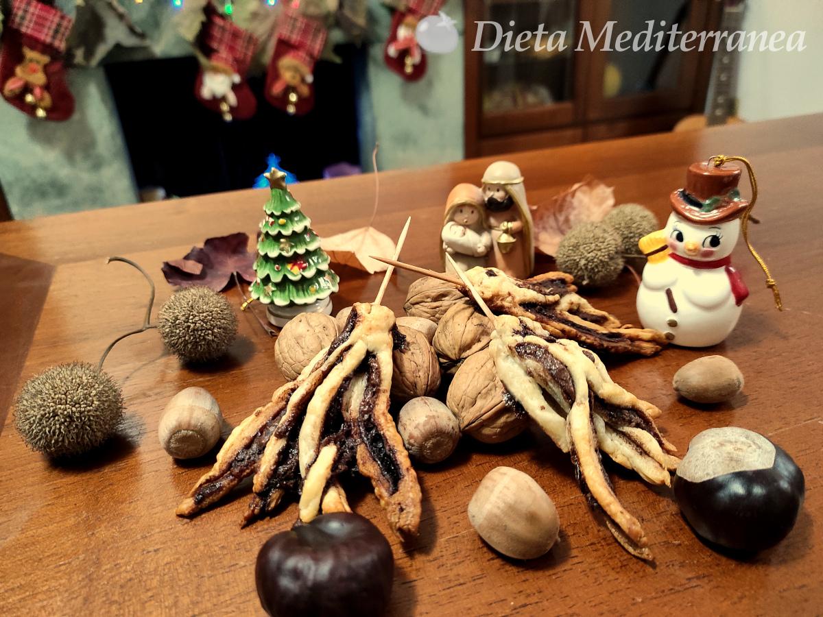 SCOPE o SCOPETTE dolci della Befana alla Nutella by Dieta Mediterranea