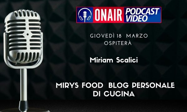 MIRYS food su Radio News24