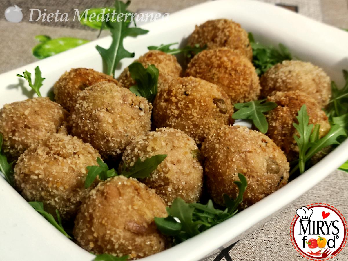 Polpette di TONNO by MIRYS food di Dieta Mediterranea