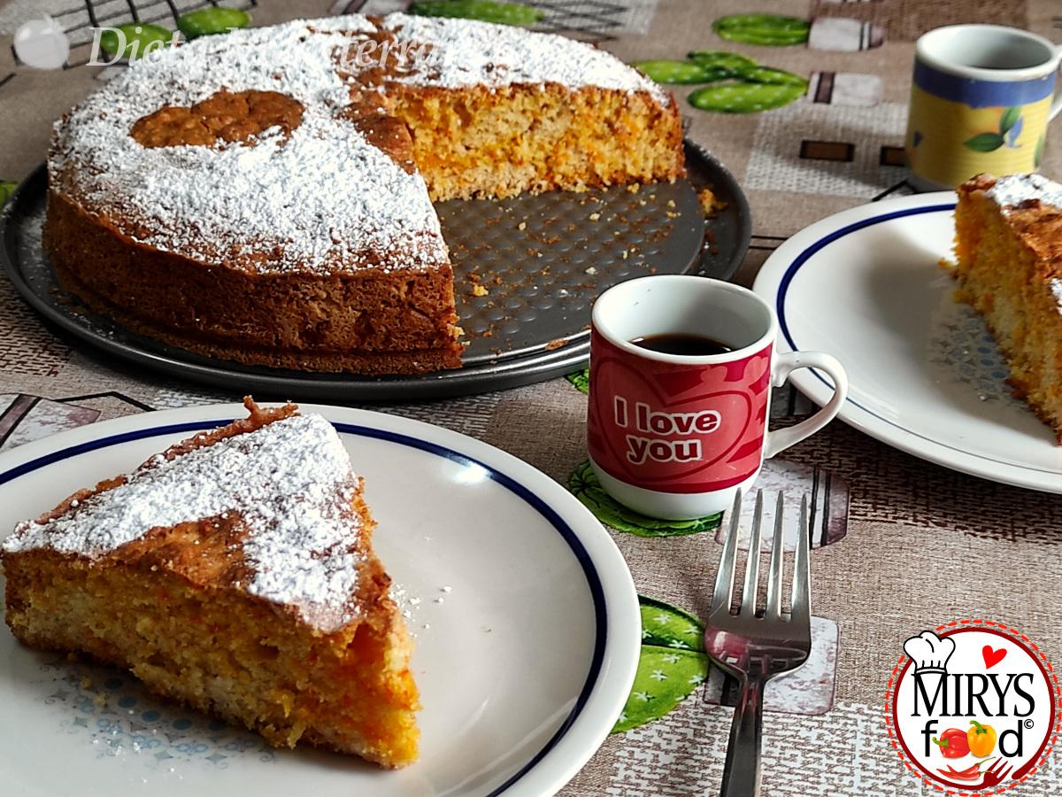 Torta alle Carote by MIRYS food di Dieta Mediterranea