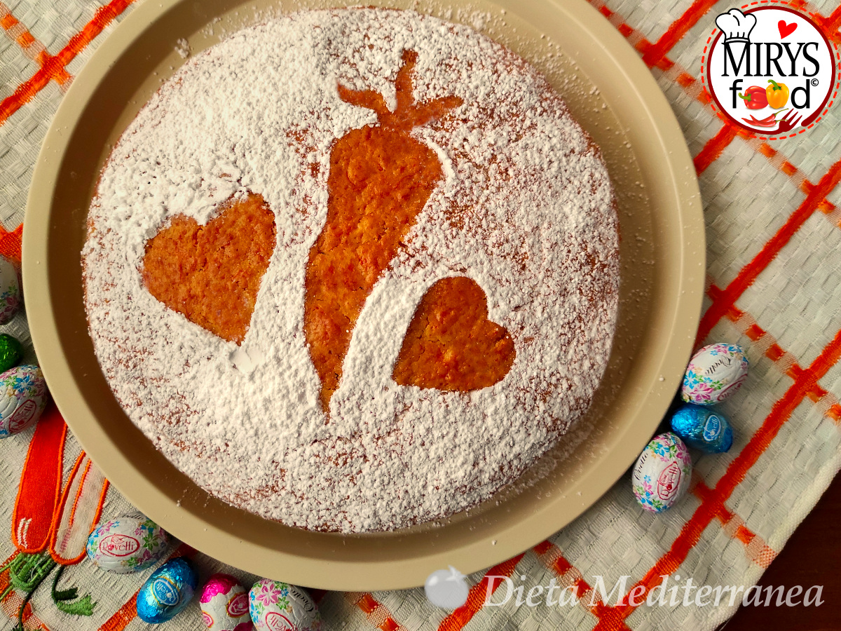 Torta di Carote by MIRYS food di Dieta Mediterranea
