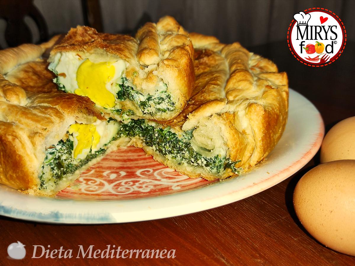 Torta Pasqualina by MIRYS food di Dieta Mediterranea