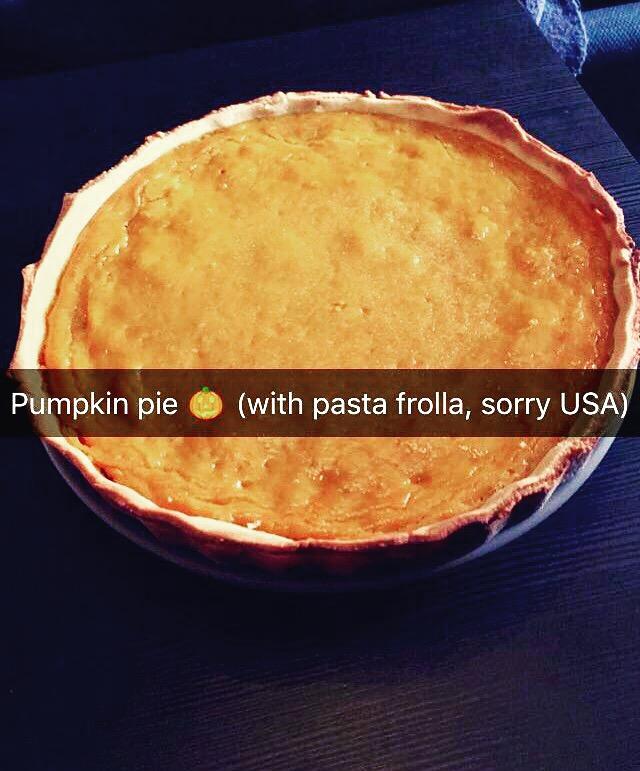 Pumpkin pie: direttamente dagli Stati Uniti, ma con un tocco di italianità!