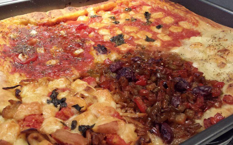 Le ricette della Lady: pizza ai cinque gusti