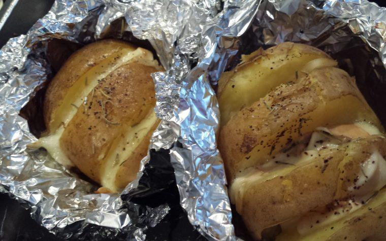 Le ricette della Lady: patate farcite
