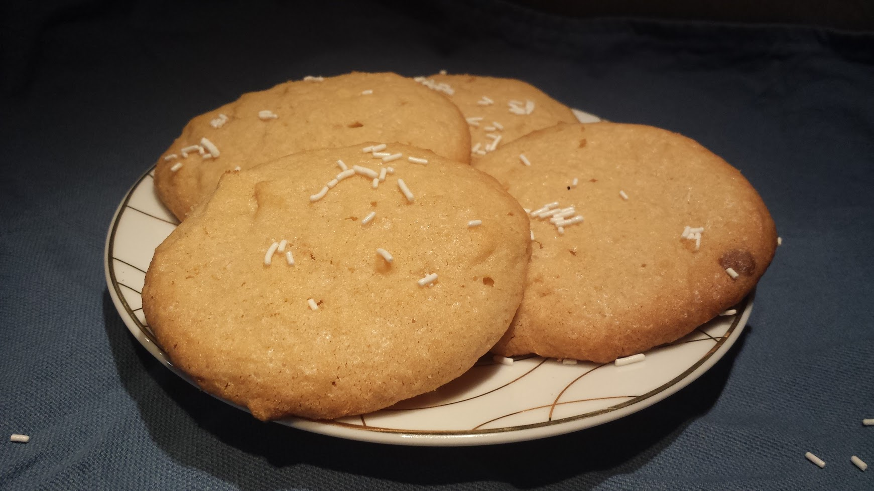 Le ricette della Lady: biscotti al burro e cioccolato bianco