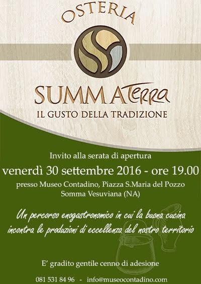 """""""Osteria Summa Terra"""