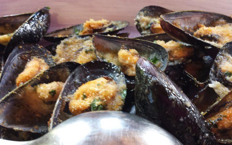 Le ricette della Lady: cozze al gratin