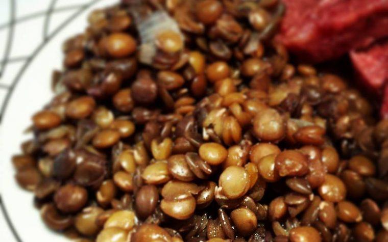 Le ricette natalizie della Lady: lenticchie di Capodanno