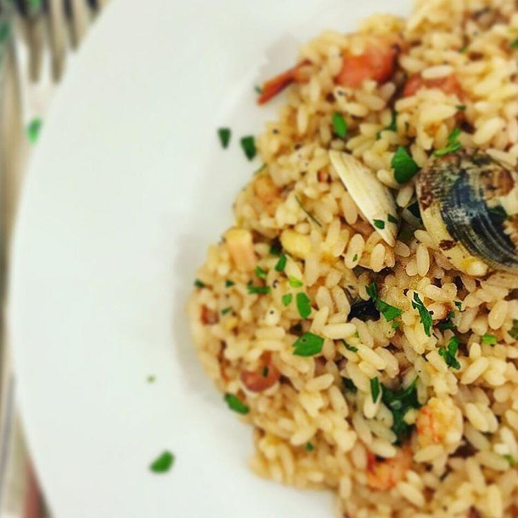 Le ricette natalizie della Lady: risotto alla pescatora