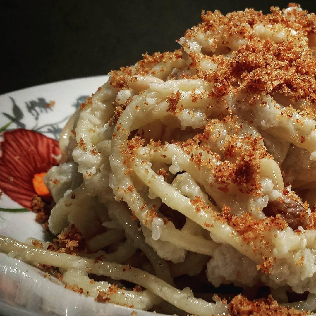 Le ricette natalizie della Lady: spaghetti con crema di cavolfiore alla siciliana
