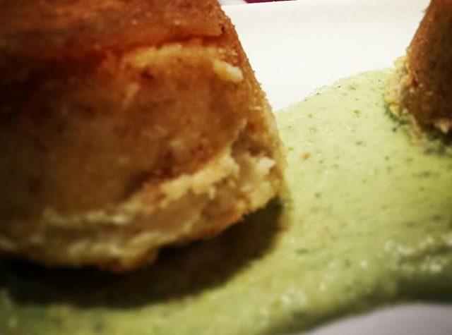 Le ricette natalizie della Lady: tortino di patate su crema di ricotta e menta