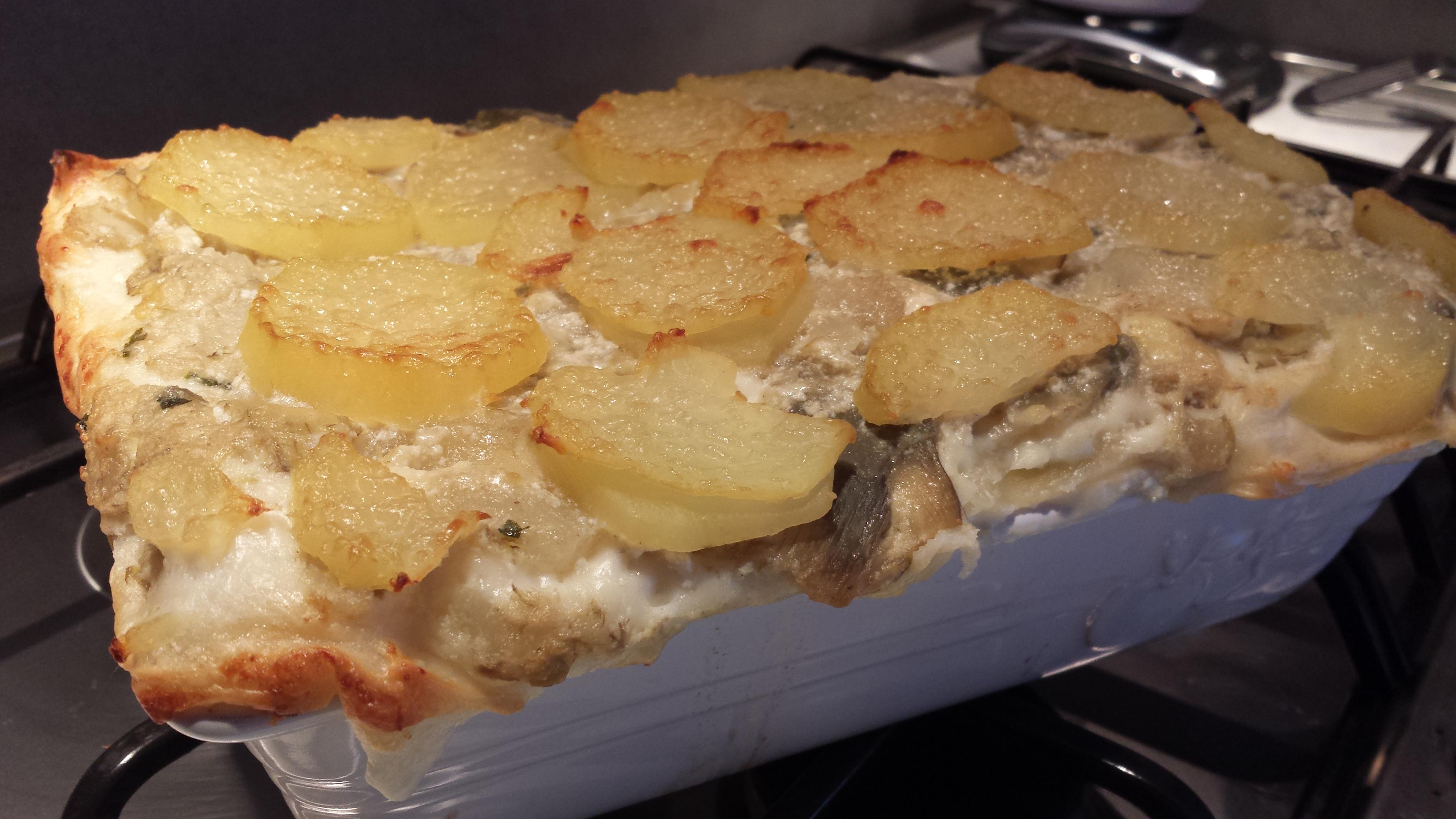 Le ricette della Lady: lasagne con salsiccia e carciofi