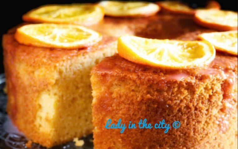 Le ricette della Lady: chiffon cake all'arancia