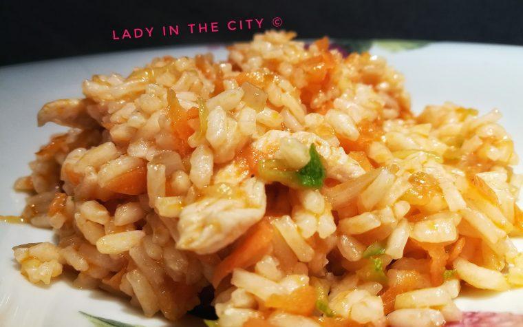 Le ricette della Lady: riso orientale