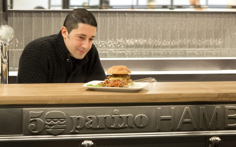 50 panino Hamburgeria: Ciro Salvo firma un altro grande progetto di stile e gusto a Napoli