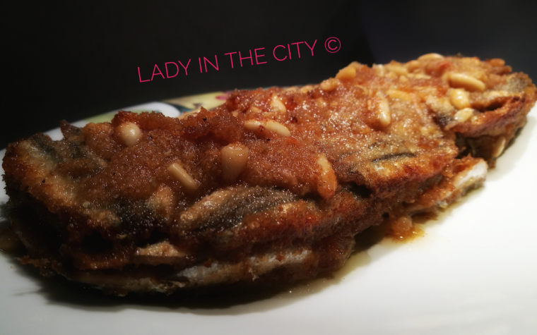 Le ricette della Lady: timballo di alici profumate agli agrumi