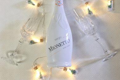 Aspettando un bianco Natale con Mionetto Sergio White Edition e alberelli con crema ai funghi