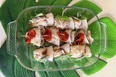 Involtini di pesce spada, ricetta facile