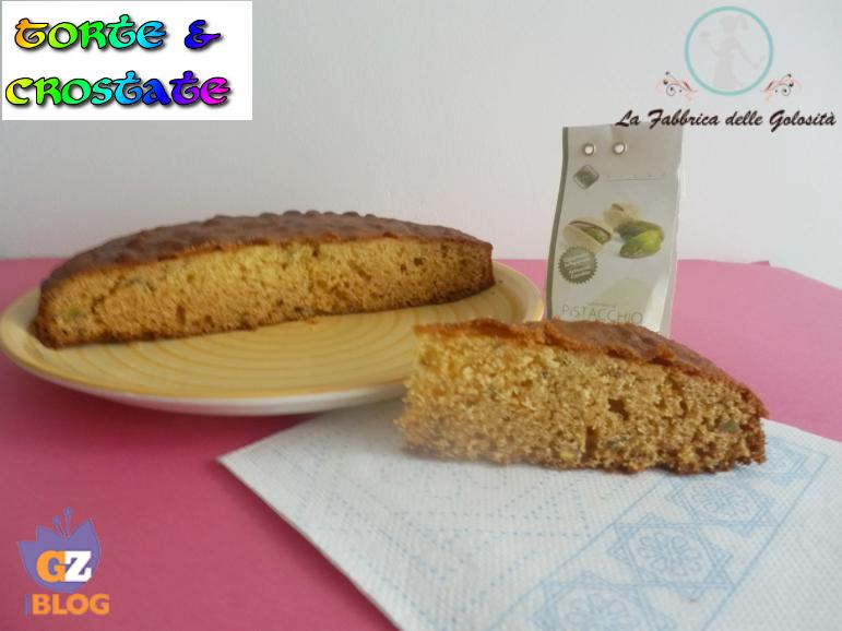 Torta Sicilia con Pasta di Mandorle e Pistacchi
