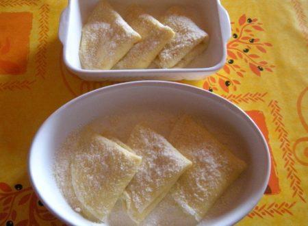 Pezzole della nonna e salsa colla