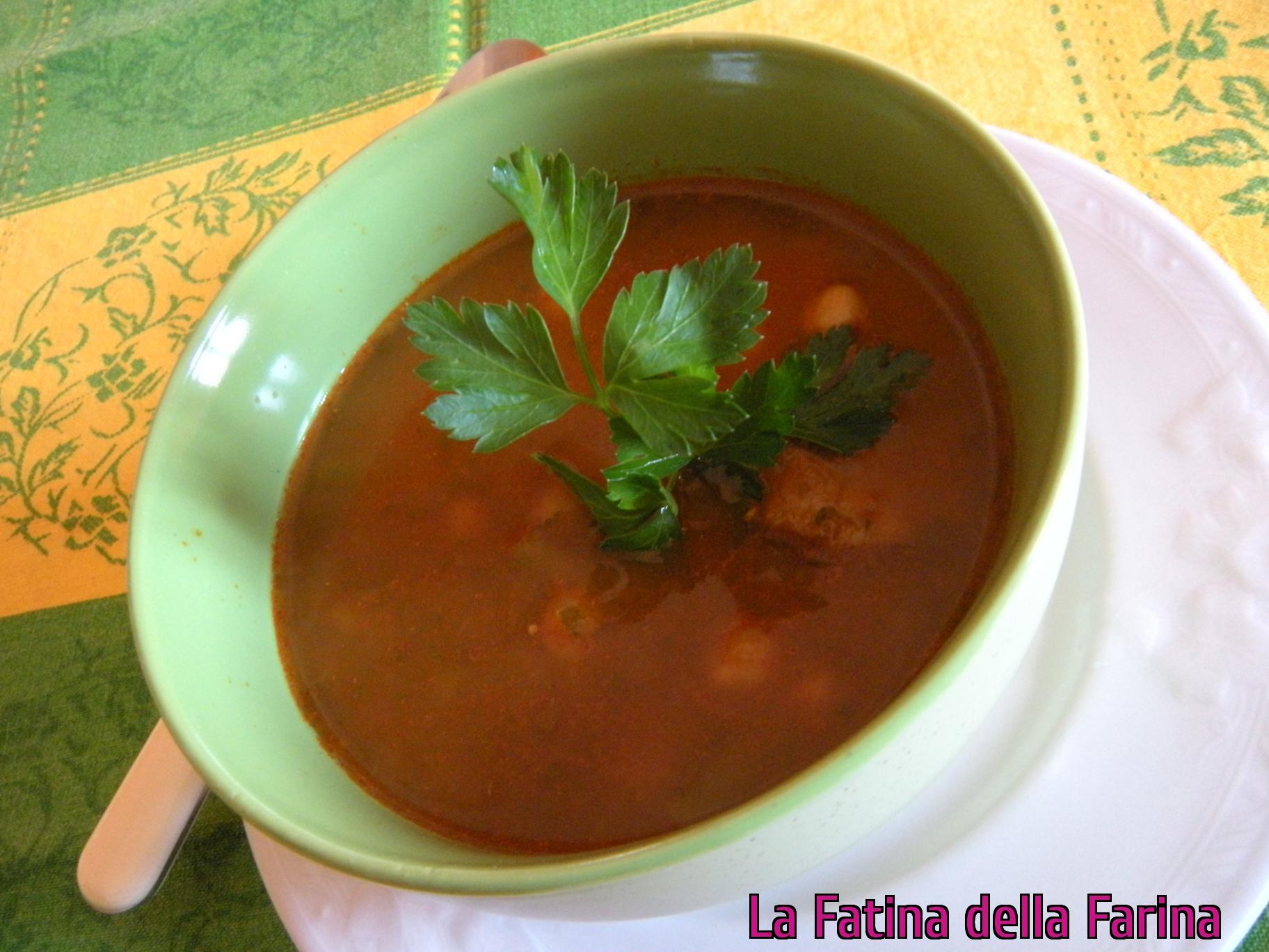 Harira zuppa marocchina
