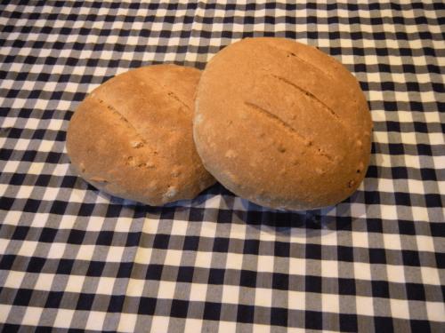Pane con lievito madre e semi di zucca
