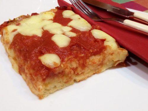 Pan pizza margherita senza glutine