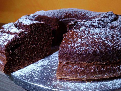 Cake morbidosa panna e cacao