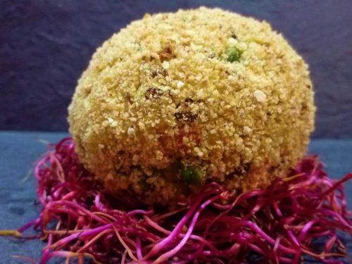 Polpette di miglio lenticchie e verdure