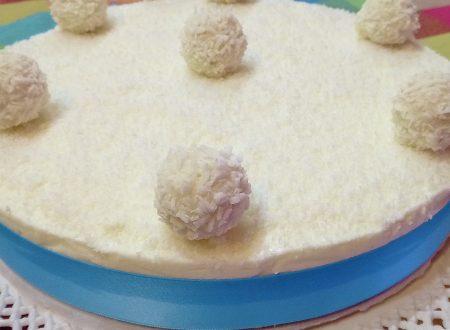 Cheesecake cocco yogurt greco e miele