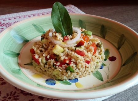 Tabulè di verdure ricetta libanese