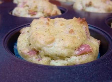 Muffin salati broccoli e mortadella
