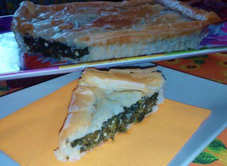Torta greca con spinaci e feta