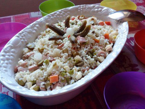 Insalata di riso a modo mio