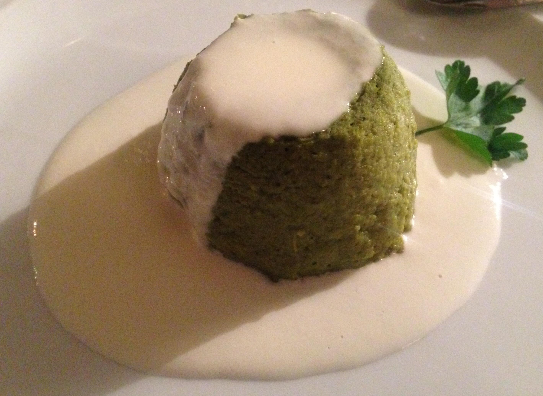 Sformato Di Broccoli Su Fonduta Di Parmigiano La Forchetta Dargento