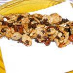 Barrette di Frutta secca e Cornflakes snacks energetico