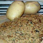 Cotolette di Patate e Spinaci, al Forno senza Uova, Light