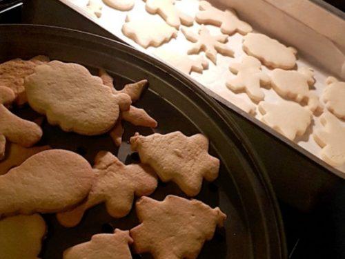Biscotti di Natale-Biscotti al burro