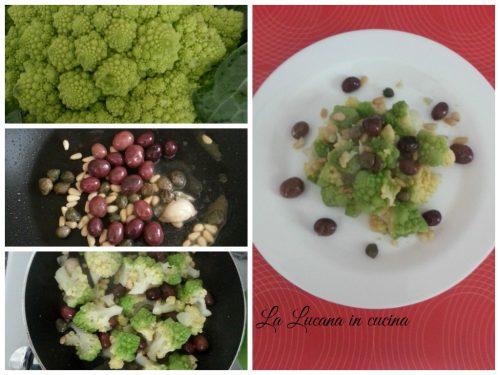 Broccolo romanesco con pinoli