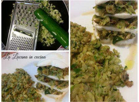 Parmigiana di mozzarella e zucchine