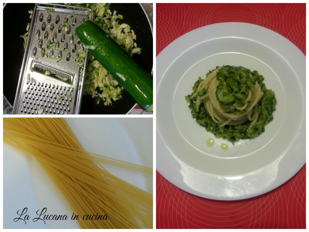 pasta zucchine e yogurt greco