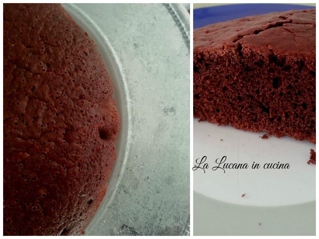 torta all acqua al cacao