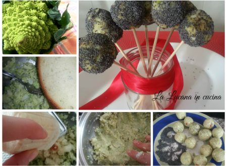 Cake pops salati broccoli e mandorle senza uova