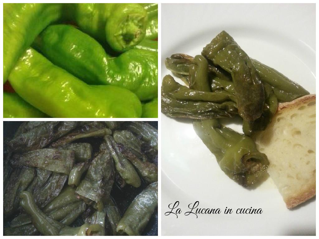 peperoni verdi lunghi fritti