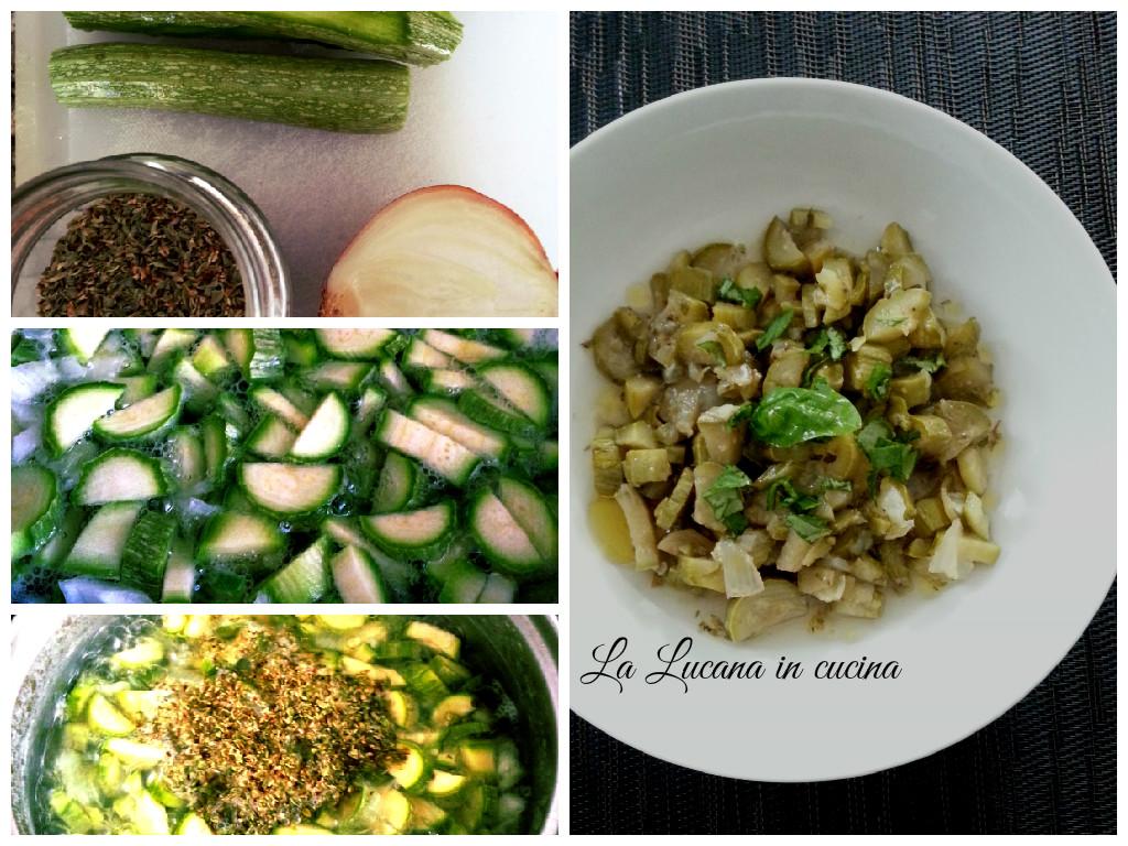 zucchine all'origano
