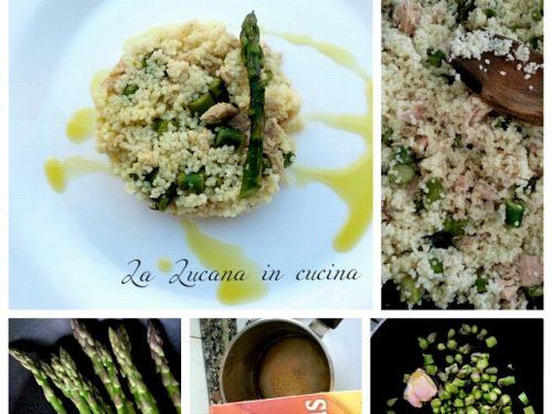 Cous cous asparagi, tonno e limone