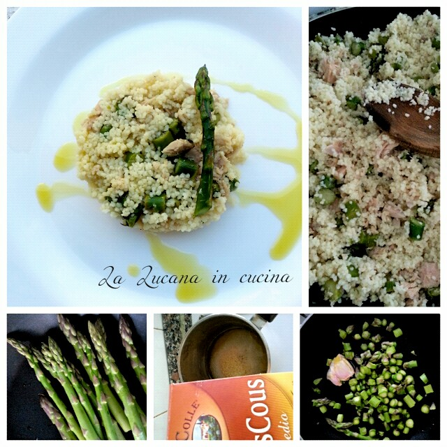 cous cous asparagi tonno e limone