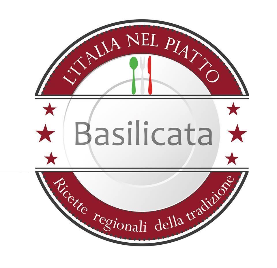Logo Basilicata Italia nel piatto